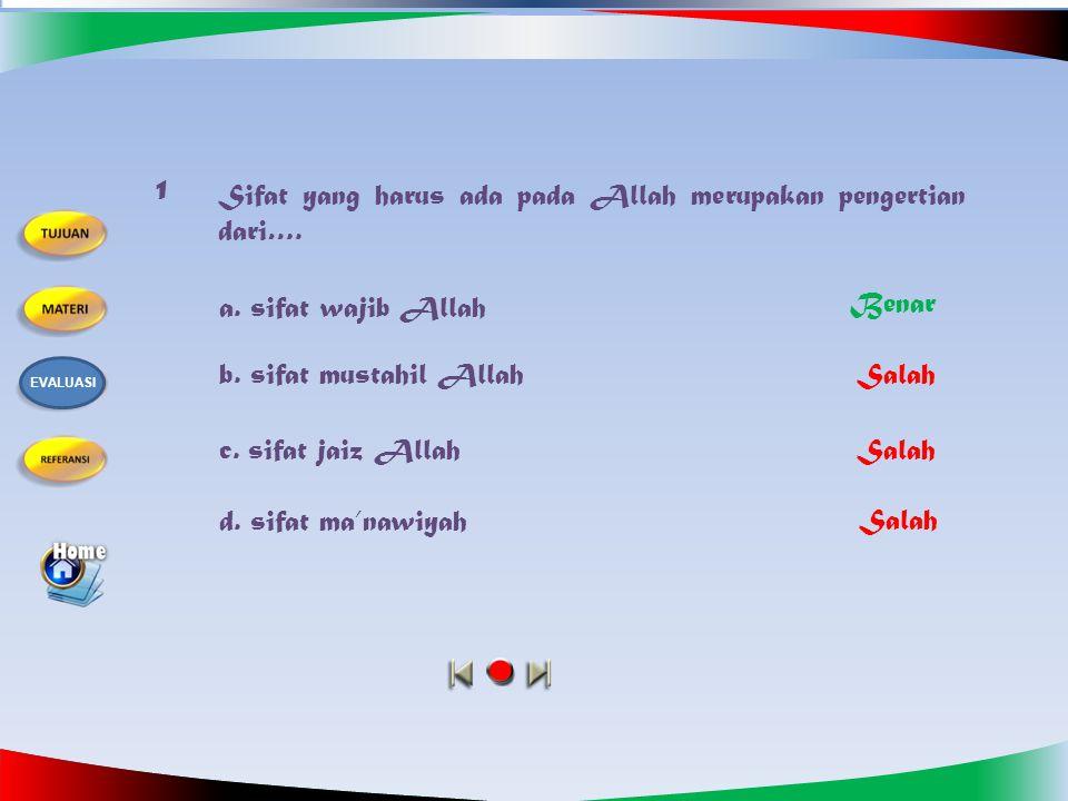 Kerjakanlah soal-soal berikut dengan cara memilih salah satu jawaban a, b, c atau d.