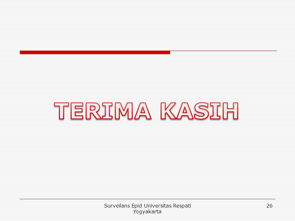 26Surveilans Epid Universitas Respati Yogyakarta