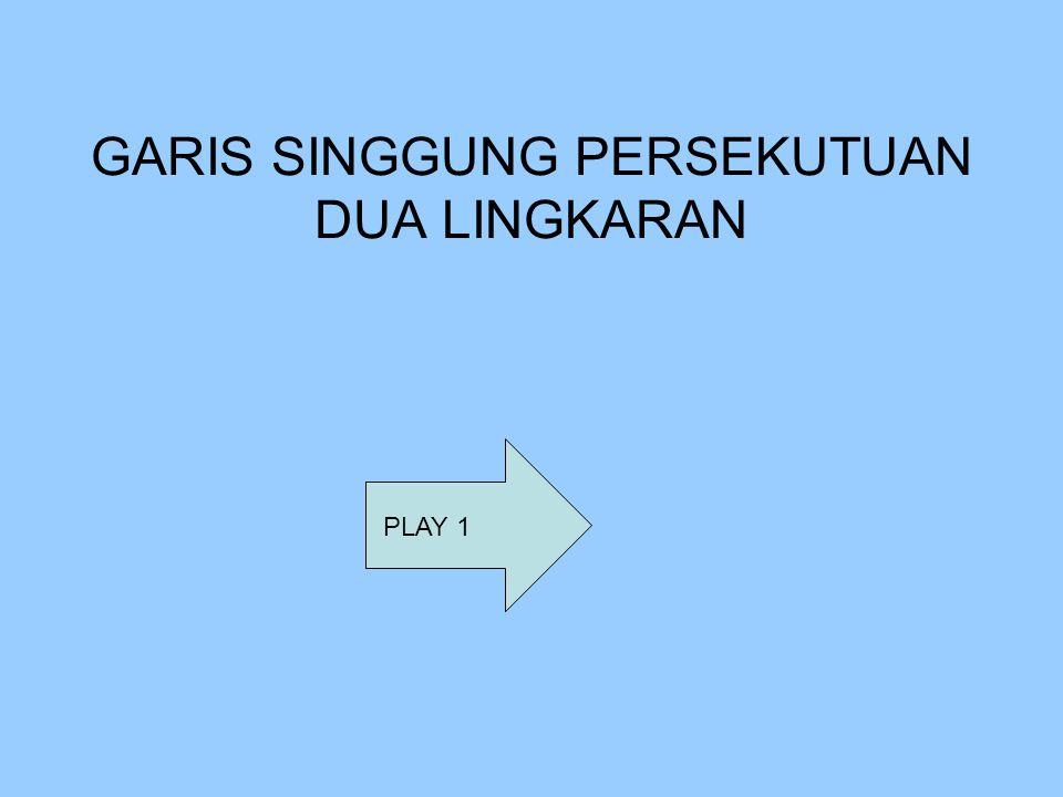 GARIS SINGGUNG PERSEKUTUAN DUA LINGKARAN PLAY 1