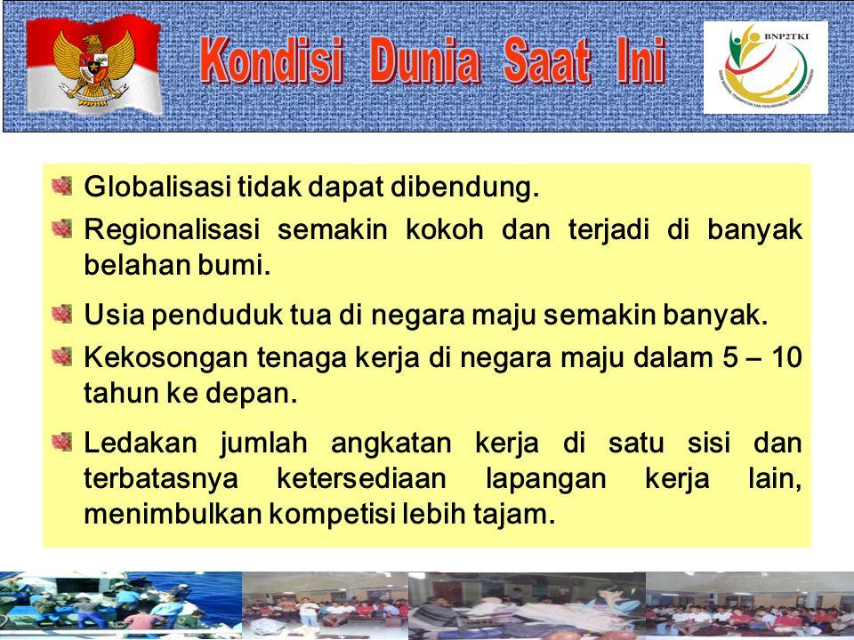 1 BADAN NASIONAL PENEMPATAN DAN PERLINDUNGAN TENAGA KERJA INDONESIA Disajikan pada : Sosialisasi Standar Pelayanan Pemeriksaan Kesehatan Calon TKI Mat
