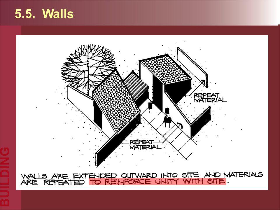 5.5. Walls