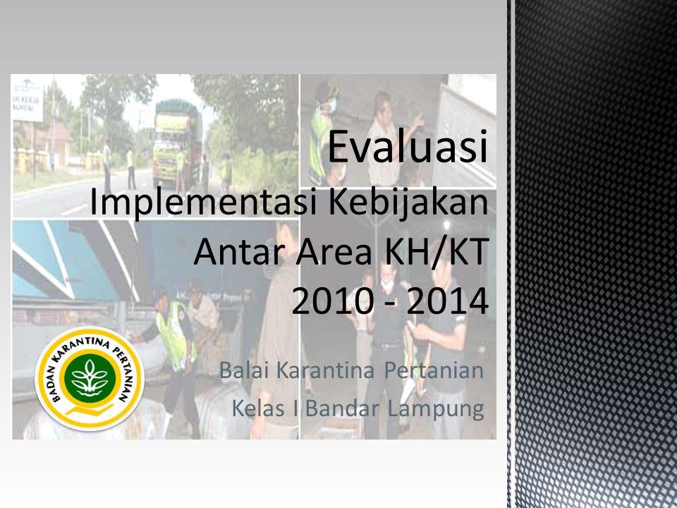 Balai Karantina Pertanian Kelas I Bandar Lampung