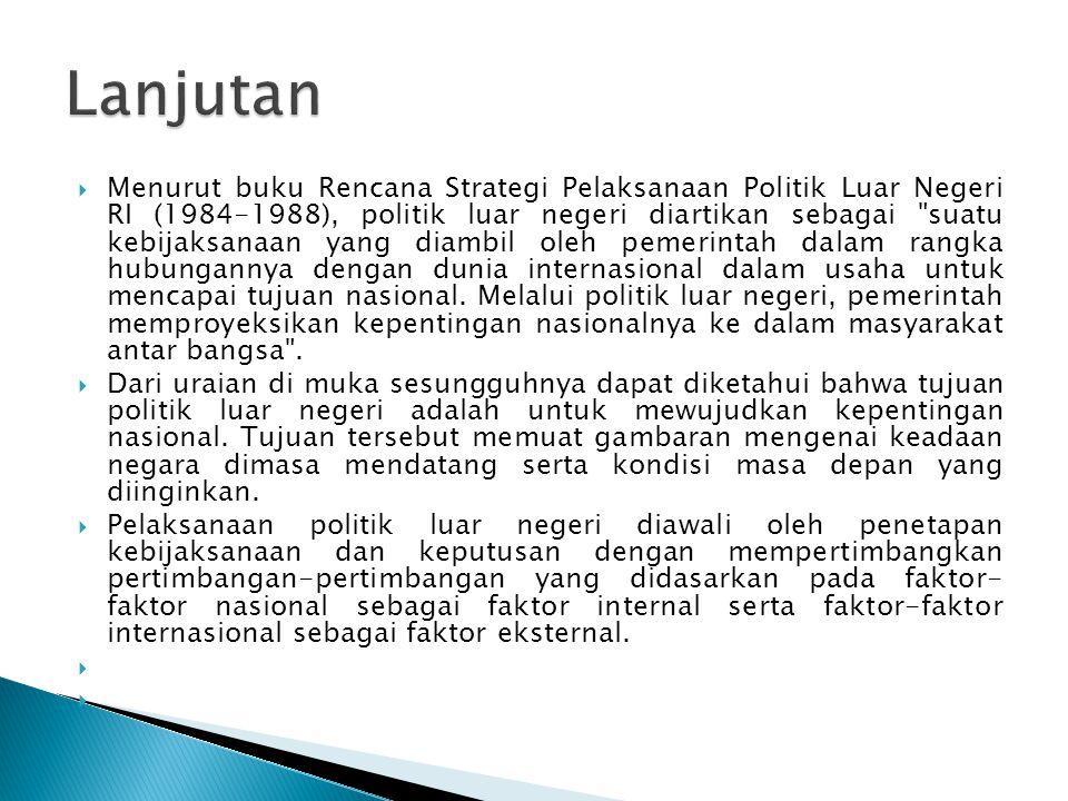  landasan konstitusional dalam pelaksanaan politik luar negeri indonesia adalah undang- undang dasar (uud) 1945.