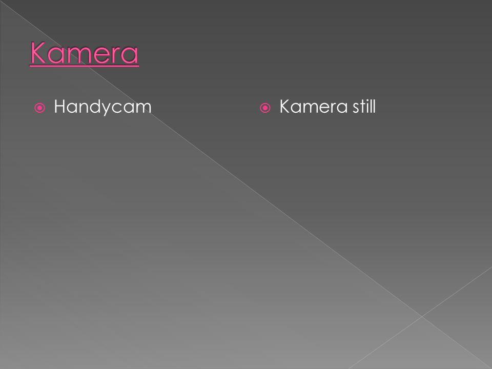  Handycam  Kamera still