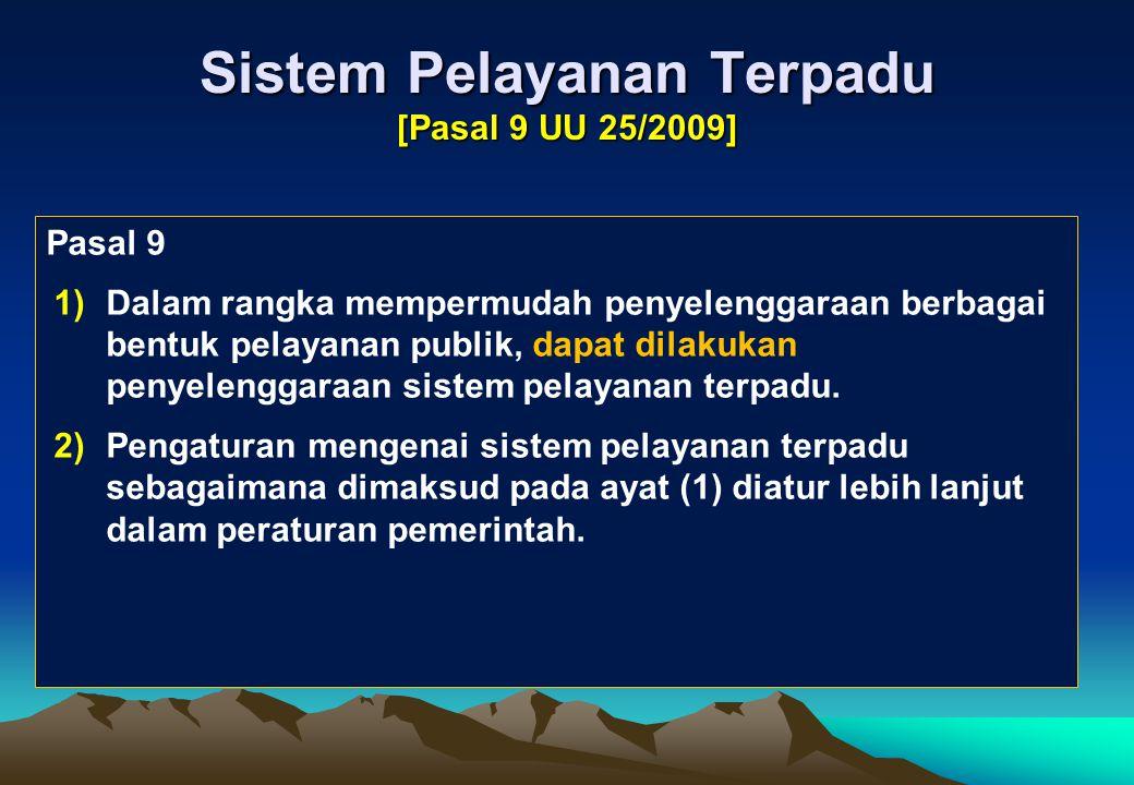 RPP: BAB Ruang Lingkup Dalam RPP: Khusus badan hukum lain diatur Penyelenggara Pelayanan hanya meliputi: penyelenggara pelayanan publik berdasarkan su