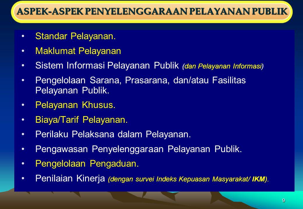 29 Penilaian Tahun 2012 Penilaian Tahun 2012 (Surat MenPAN dan RB No.