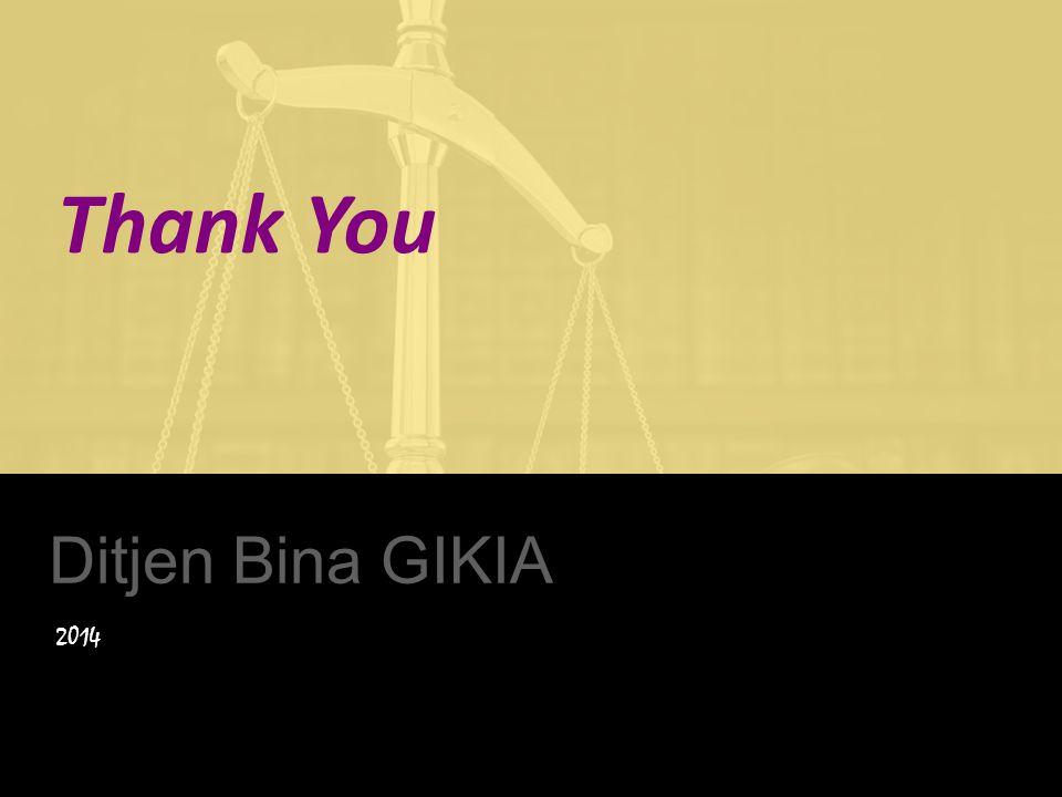 Thank You Ditjen Bina GIKIA 2014