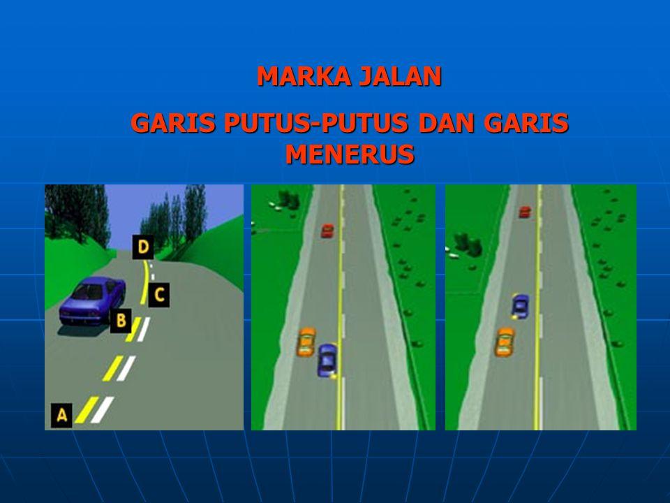 MATERI TINGKAT SLTA a.Pengertian tentang lalu lintas b.Rambu-rambu lalu lintas dan marka jalan c.Pengamanan diri sebagai pengguna / pemakai jalan d.Ta