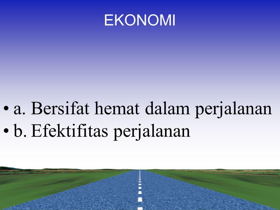 SOSIOLOGI a.Memberi kesempatan penyeberang jalan b.Tidak menyalahgunakan fungsi jalan dan badan jalan