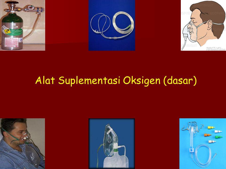 ACLS Alat Suplementasi Oksigen (dasar)