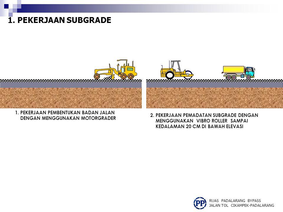 Kualitas material pada Base A dan Base B harus ditentukan terlebih dahulu dengan peninjauan dan pengetesan ke lokasi sample material (stone Cruser atau Quarry) terdekat, dengan hasil tersebut baru dapat dilaksanakan pengadaan materialnya.