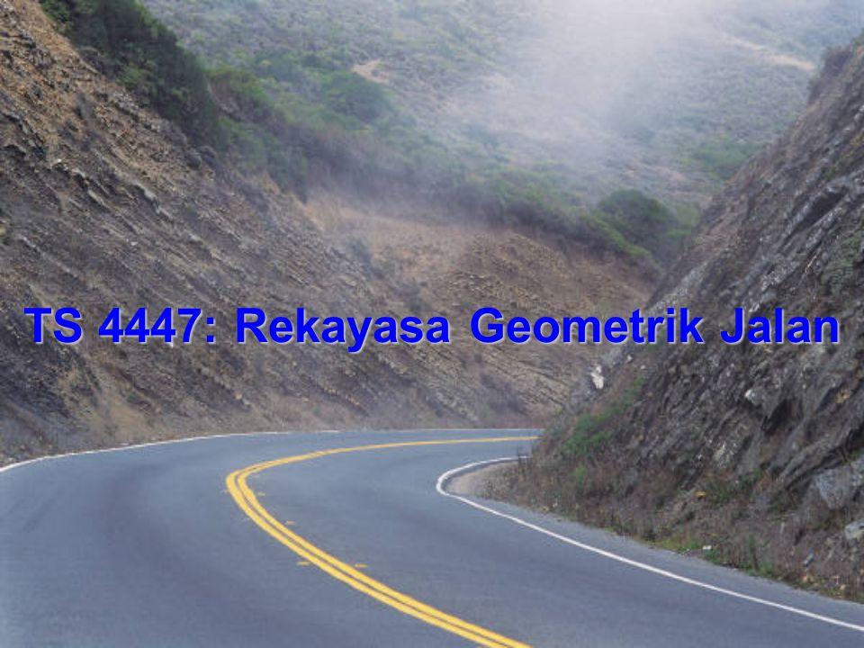 TS 4447: Rekayasa Geometrik Jalan