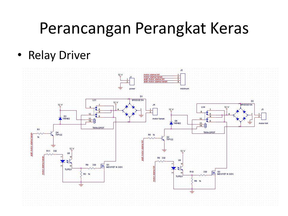 Perancangan Perangkat Keras Relay Driver