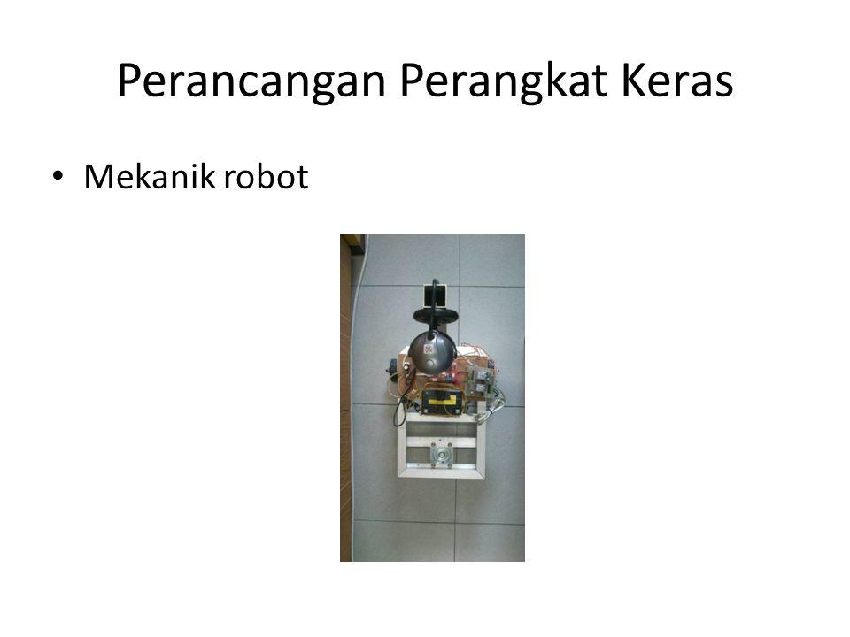 Perancangan Perangkat Keras Mekanik robot