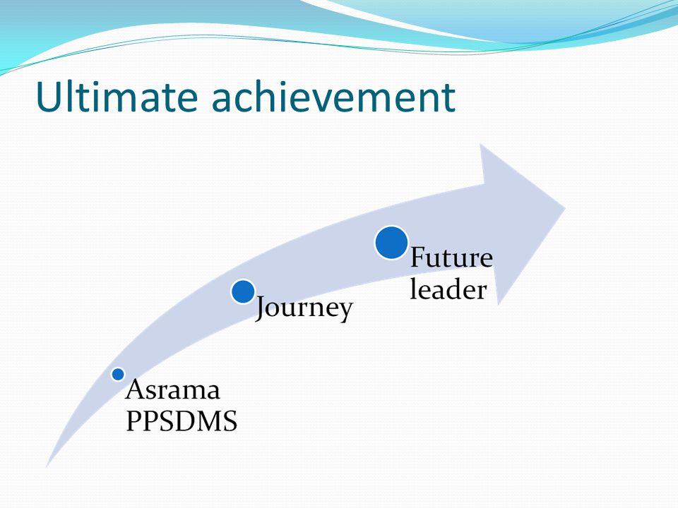 Career development: total effort Selalu ingat akan adanya tarik menarik abadi antara idealisme dan pragmatisme.