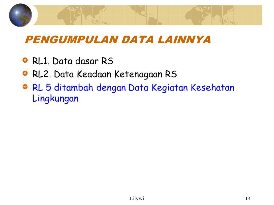 Lilywi14 PENGUMPULAN DATA LAINNYA RL1.Data dasar RS RL2.