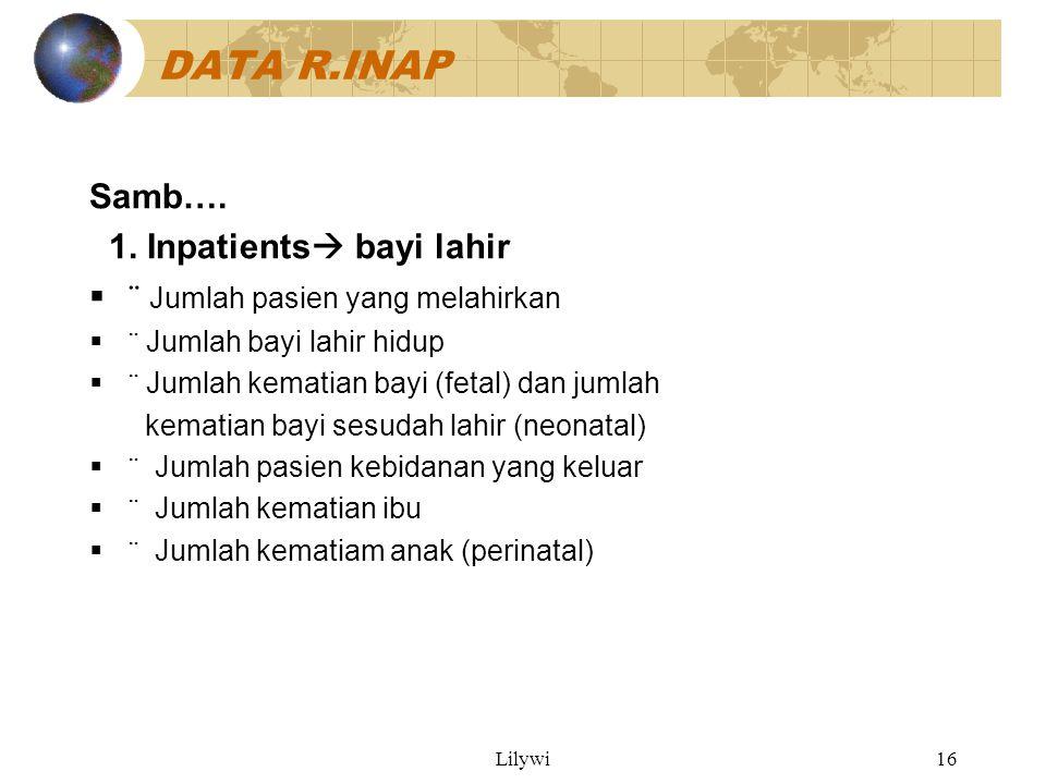 Lilywi16 DATA R.INAP Samb….1.