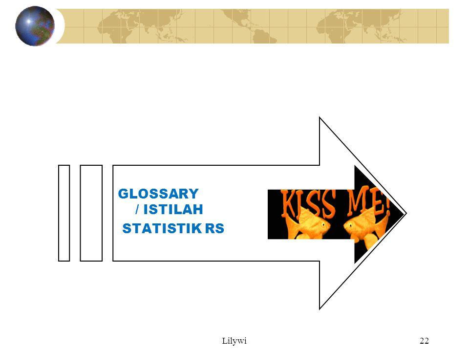 Lilywi22 GLOSSARY / ISTILAH STATISTIK RS