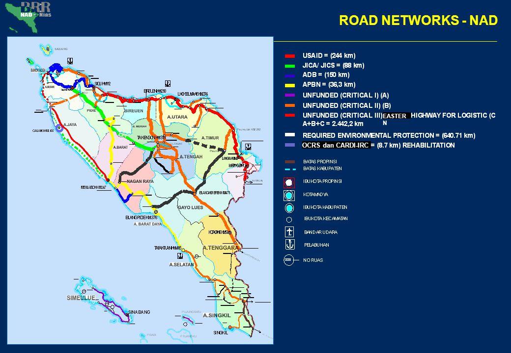 ROAD NETWORKS - NAD OCRS dan CARDI-IRC EASTER N