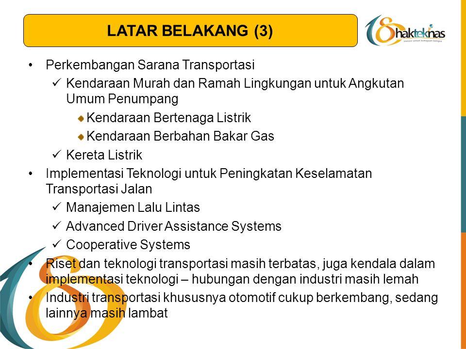 Perkembangan Sarana Transportasi Kendaraan Murah dan Ramah Lingkungan untuk Angkutan Umum Penumpang Kendaraan Bertenaga Listrik Kendaraan Berbahan Bak