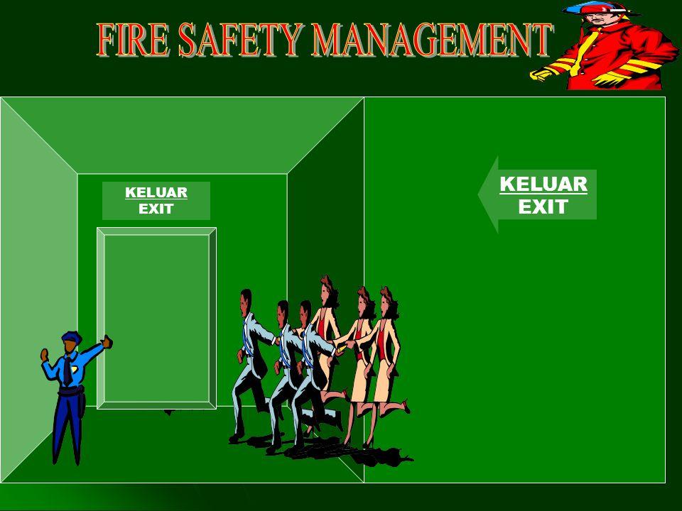 MAKSUD DAN TUJUAN Mengetahui dan memahami tugas yang harus dilakukan oleh team peran kebakaran pada saat terjadi kebakaran atau keadaan darurat.