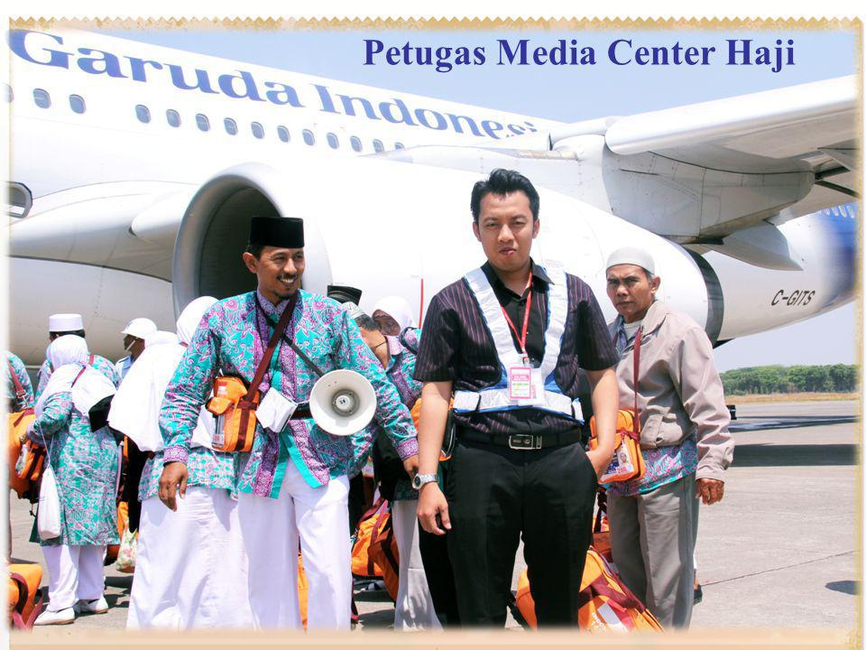 Petugas Media Center Haji