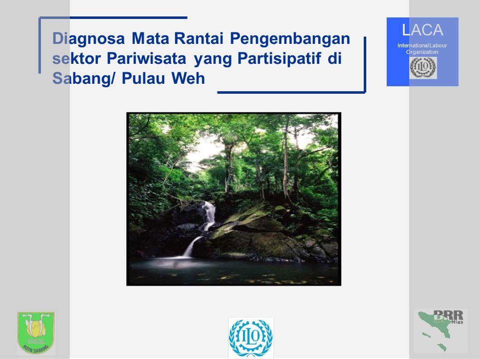 LACA International Labour Organization Diagnosa Mata Rantai Pengembangan sektor Pariwisata yang Partisipatif di Sabang/ Pulau Weh