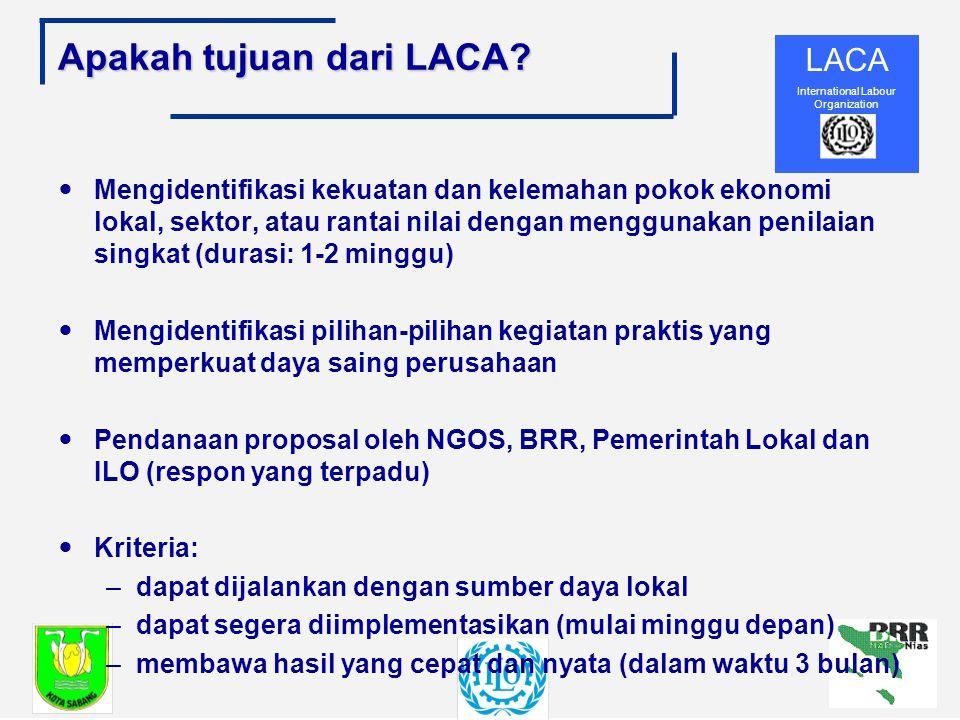 LACA International Labour Organization Apakah tujuan dari LACA.