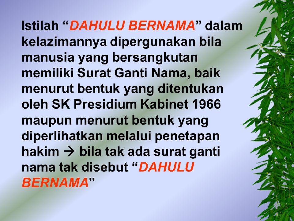 -- Tuan AHMAD LIE menurut keterangan nya dahulu bernama LIE HOK GUAN, War ga Negara Indonesia, lahir di Pamekasan, tanggal 2 (dua) Juni 1940 (seribu sembi lan ratus empat puluh), Wiraswasta, pemegang kartu Tanda Penduduk Repub lik Indonesia Nomor 0002.020640.2485.0036, bertempat tinggal di Kudus, Jalan Kawedanan Nomor 19, untuk sementara berada di Medan, menurut keterangannya dalam hal ini bertindak dst