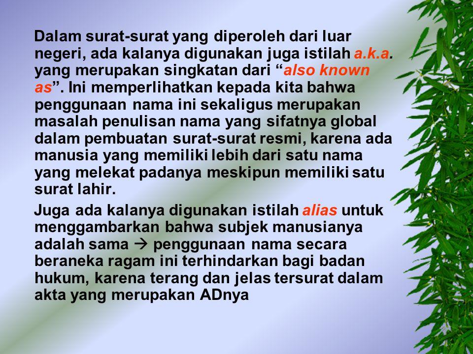 -- Tuan ROESLI menurut keterangan nya disebut dan ditulis juga RUSLI, Warga Negara Indonesia dst -- tuan AHMAD menurut keterangan nya juga menyebut dirinya AHMAT, Warga Negara Indonesia dst -- tuan RUSKIN alias SOE HOK GIE, Warga Negara Indonesia, dst