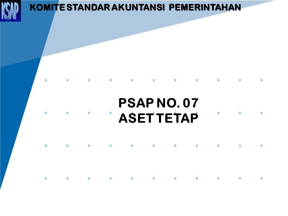 REKLASIFIKASI ASET TETAP  Aset tetap yang dihentikan dari penggunaan aktif pemerintah tidak memenuhi definisi aset tetap dan harus dipindahkan ke pos aset lainnya sesuai dengan nilai tercatatnya.