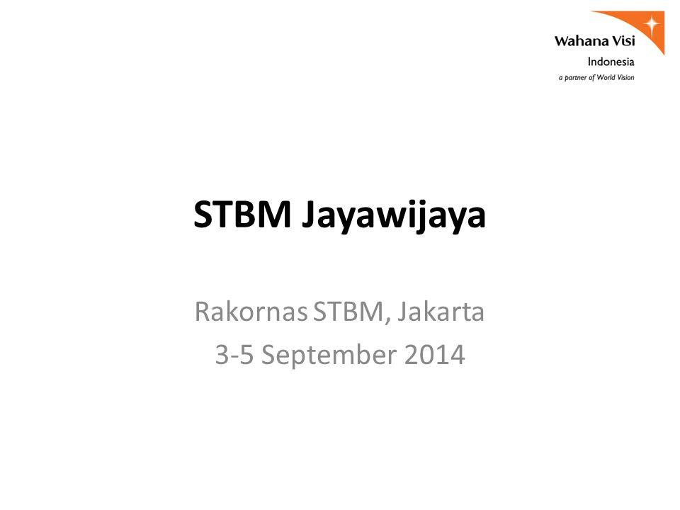 STBM Jayawijaya Rakornas STBM, Jakarta 3-5 September 2014