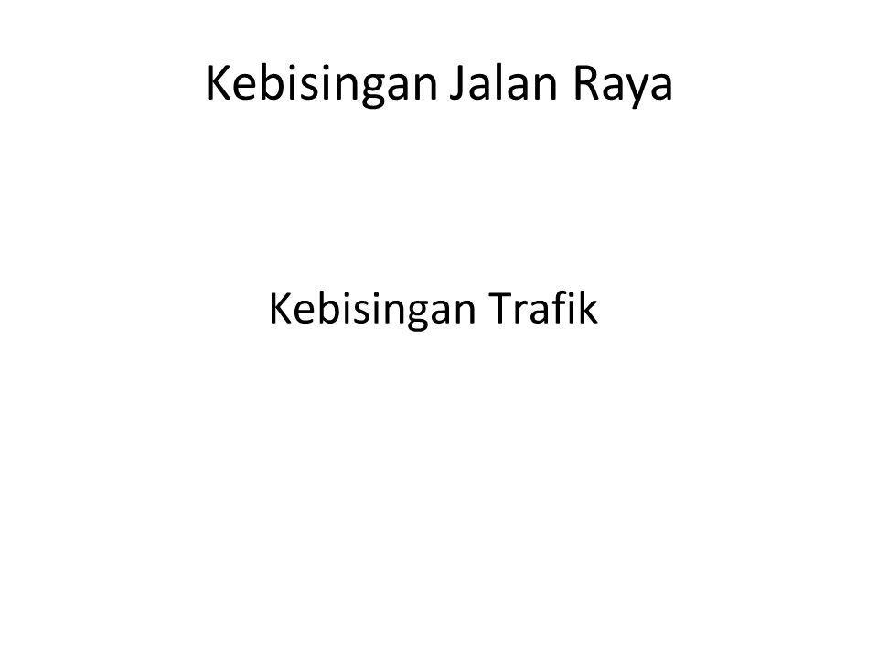 Kategori Jalan dan Jenis Kendaraan