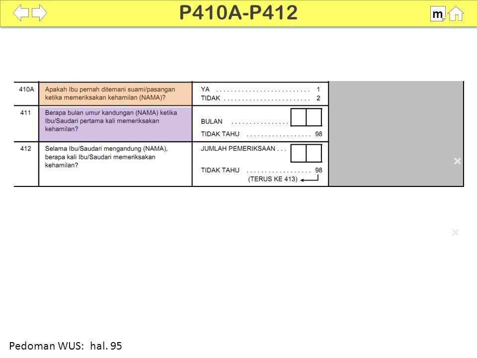 100% SDKI 2012 P410A-P412 m Pedoman WUS: hal. 95