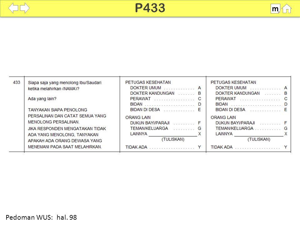 100% SDKI 2012 P433 m Pedoman WUS: hal. 98