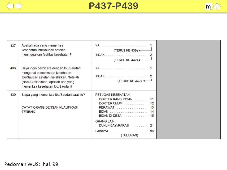 100% SDKI 2012 P437-P439 m Pedoman WUS: hal. 99