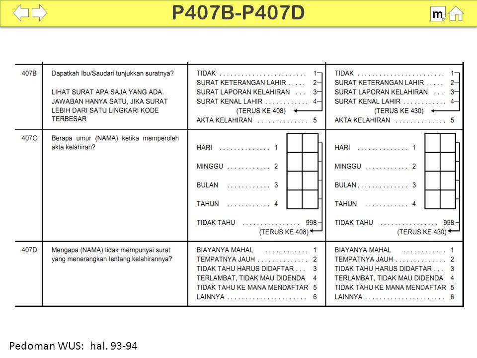100% P407B-P407D m Pedoman WUS: hal. 93-94