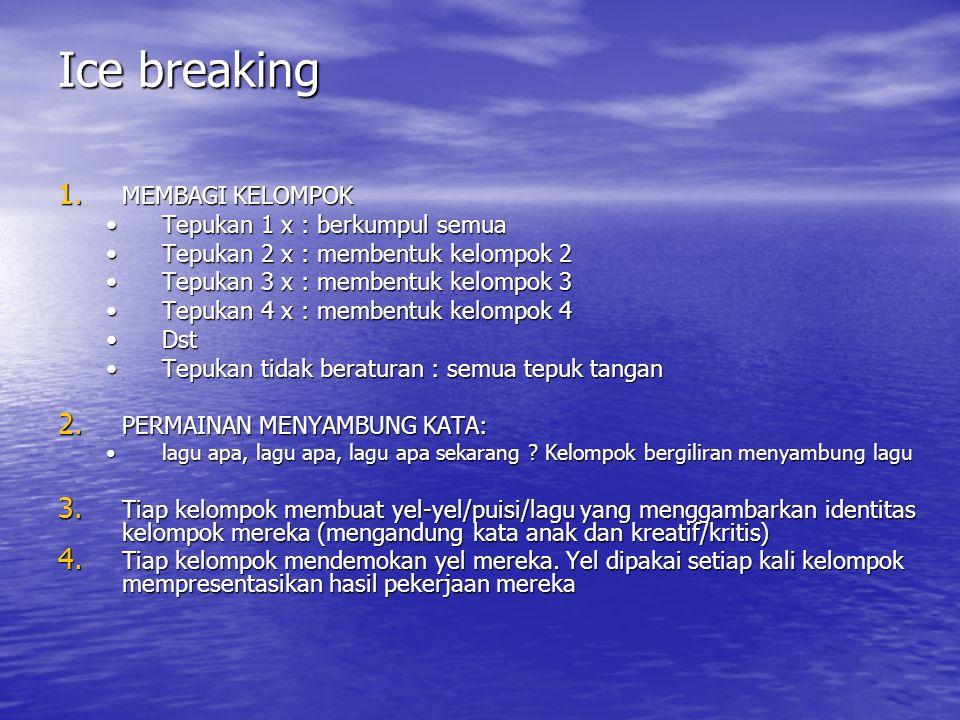 Ice breaking 1.