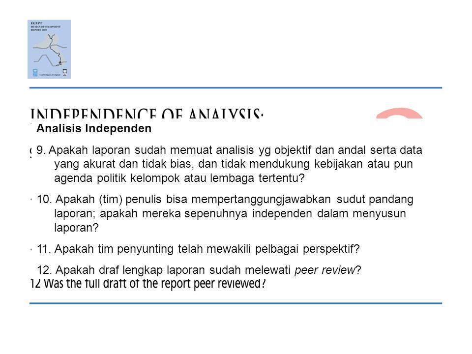 Analisis Independen 9.