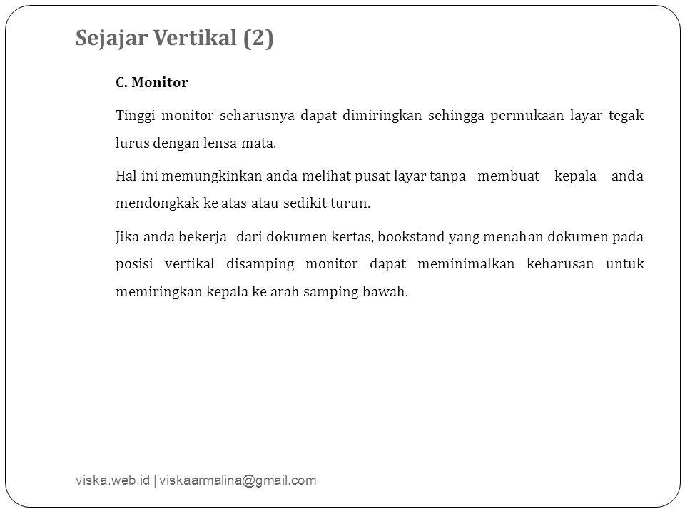 Sejajar Vertikal (2) C.