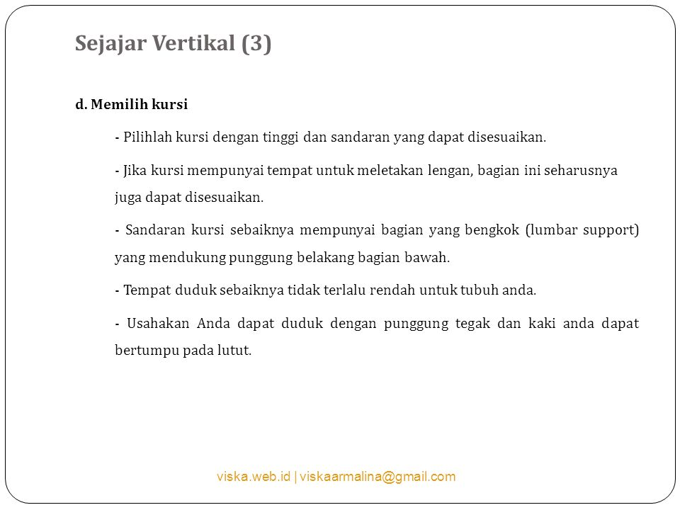 Sejajar Vertikal (3) d.