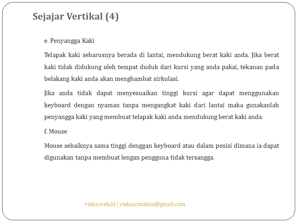 Sejajar Vertikal (4) e.