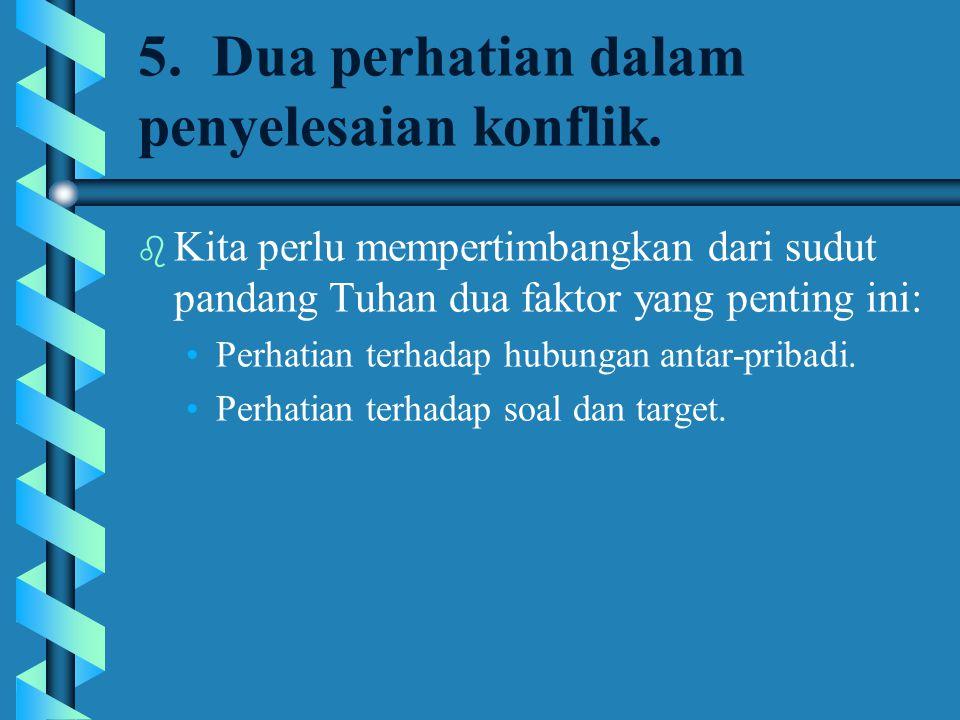 12.Lima Gaya Penyelesaian Konflik b 4.