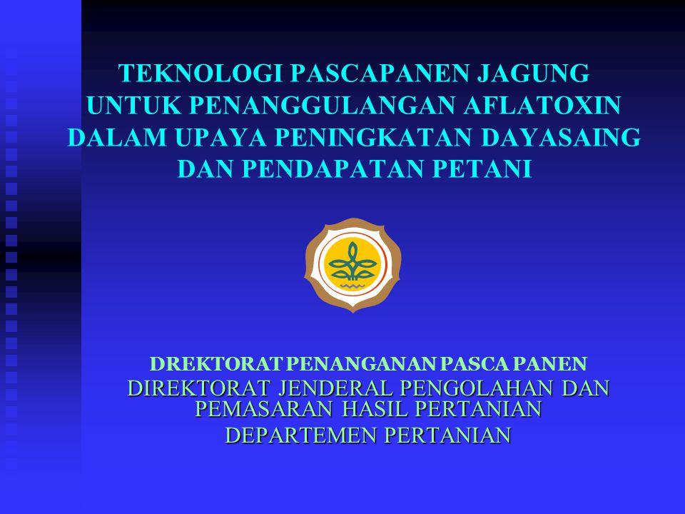 KESIMPULAN 1.Indonesia mempunyai potensi dan peluang yang cukup besar untuk pengembangan agribisnis jagung.