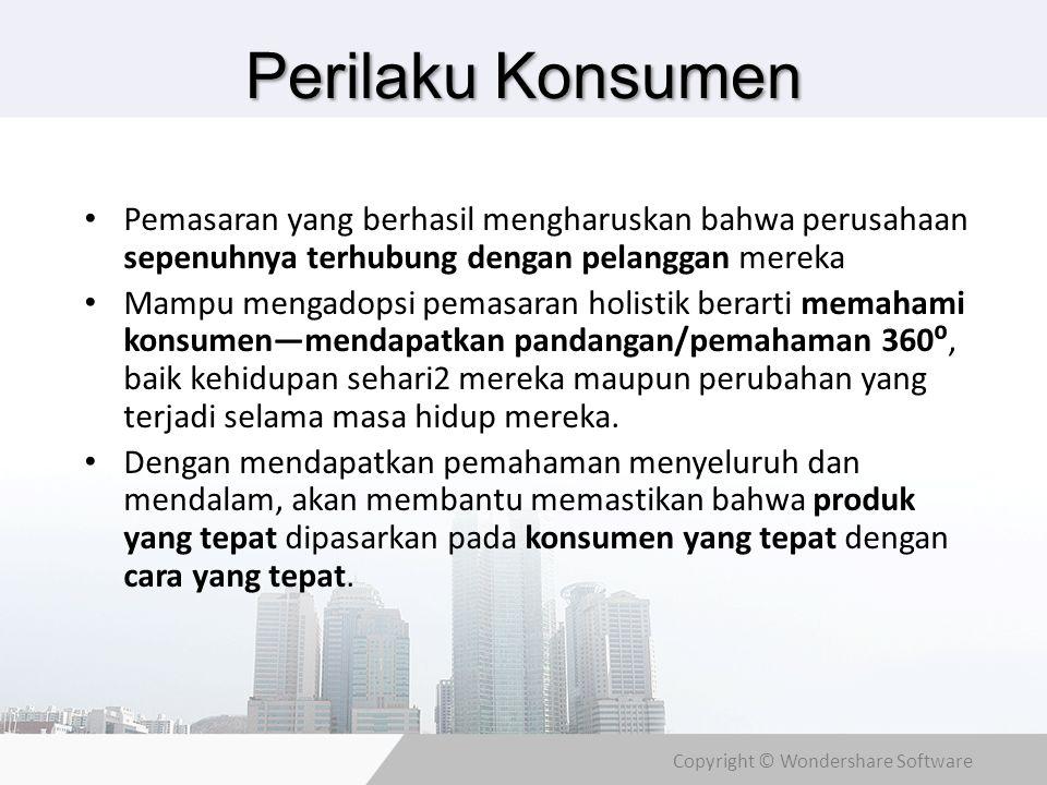 Copyright © Wondershare Software Pekerjaan & Lingkungan Ekonomi Pekerjaan jg mempengaruhi pola konsumsi.