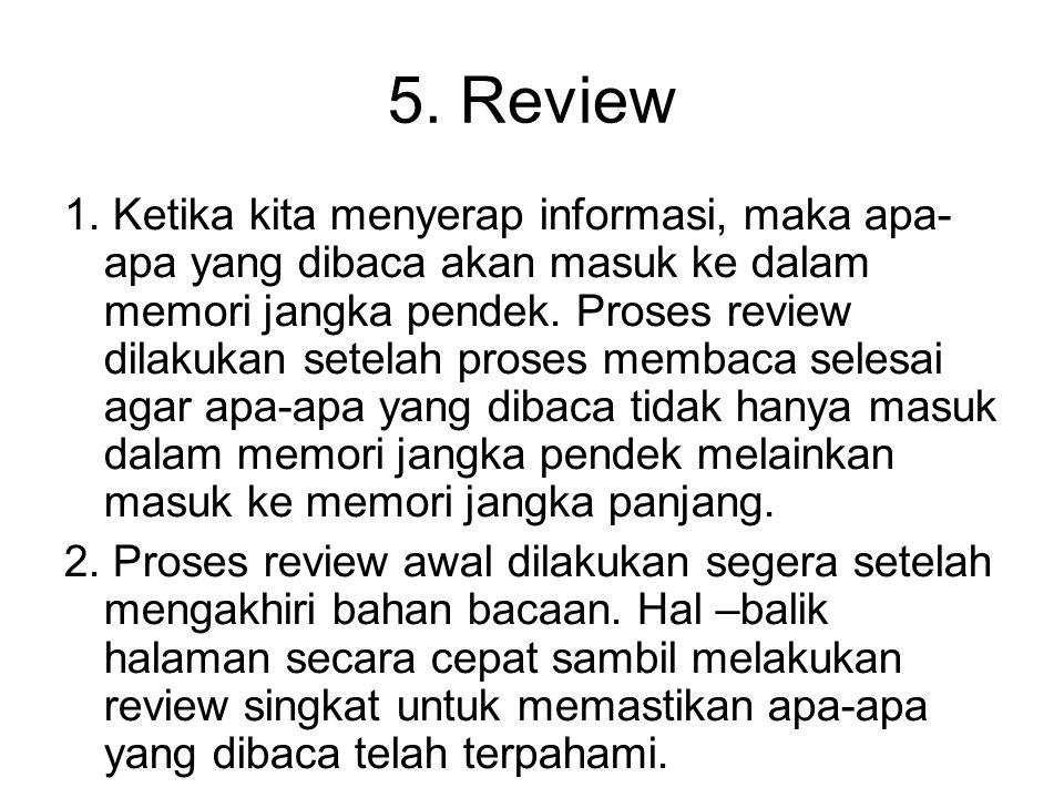 4.Recite 1.