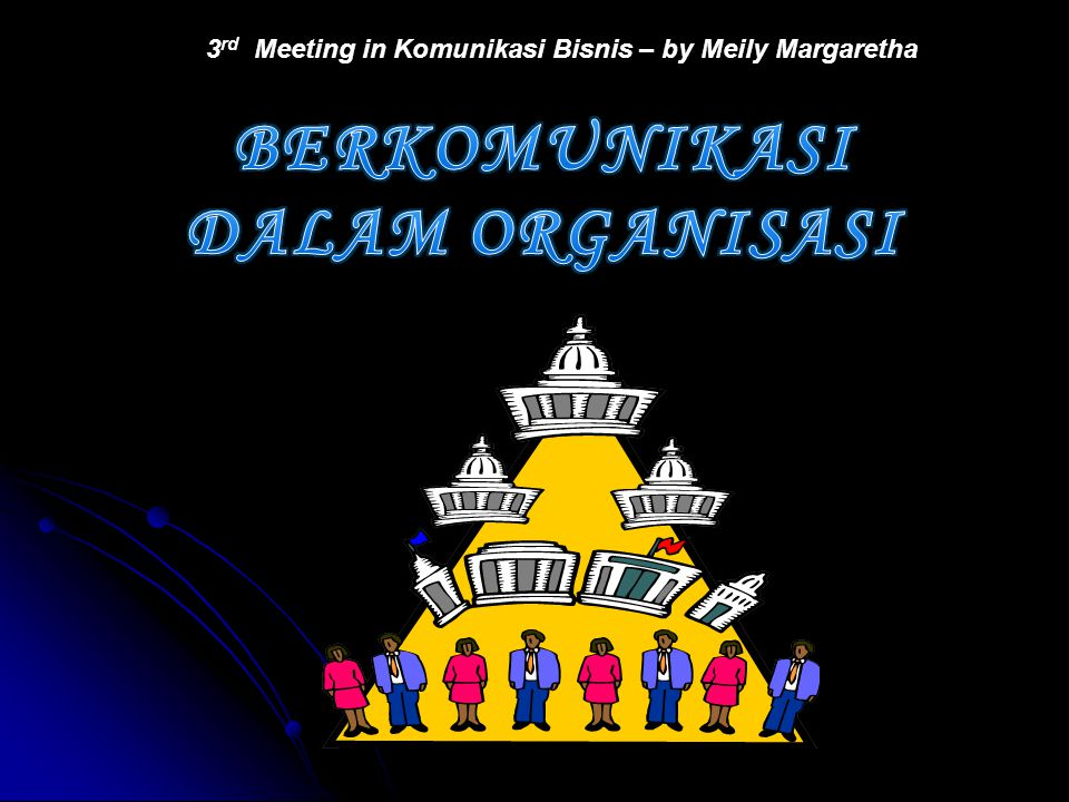 3 rd Meeting in Komunikasi Bisnis – by Meily Margaretha