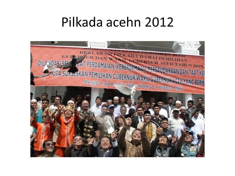 Pilkada acehn 2012