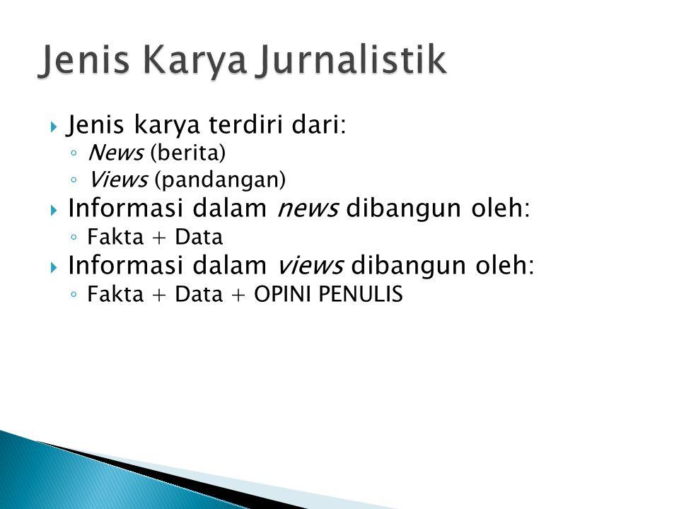 News Values & News Judgment  AUDIENCE  IMPACT  PROXIMITY  TIMELINES  PROMINANCE  UNUSUALNESS  CONFLICT JUDGEMENT DAMPAK PEMBERITAAN ETIKA NORMA