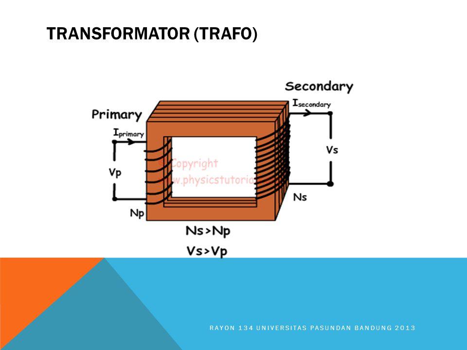 TRANSFORMATOR (TRAFO) RAYON 134 UNIVERSITAS PASUNDAN BANDUNG 2013